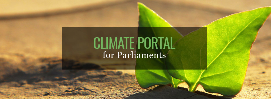 The Portal was designed to facilitate parliamentary work by assembling publications, e-courses, areas of expertise and other types of sources used by MPs, parliamentary staff and practitioners invested in the topic of parliaments and climate change.