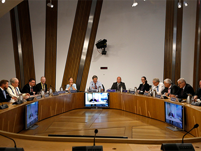 Library of webinars, events and lectures and interviews on parliamentary development.