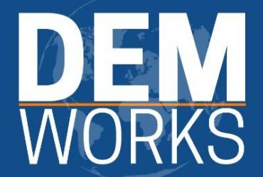 DEM WORKS Podcast Logo